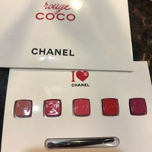 CHANEL Rouge Lip color sample